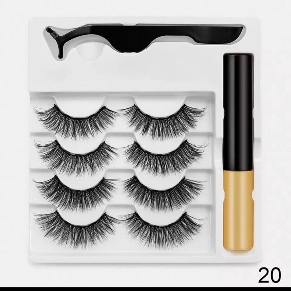 Magnetic lashes 4 pairs mink